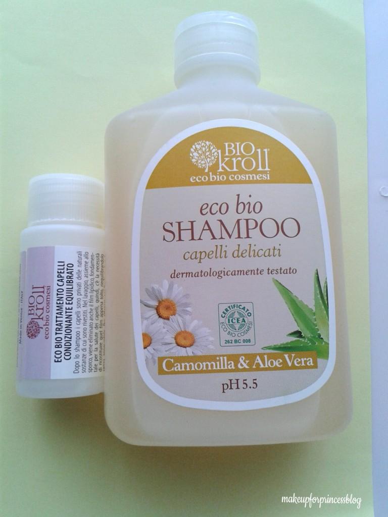 Shampoo ecobio delicato Cosmoprof 2015 Biokroll