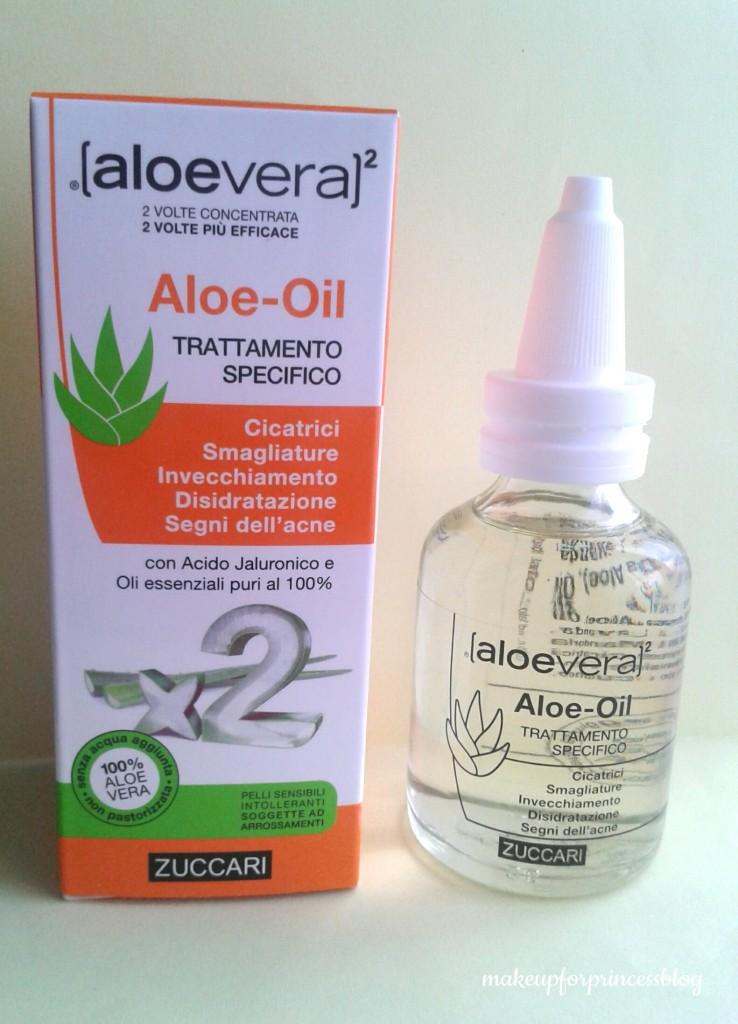 aloe oil zuccari Cosmoprof