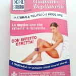Guantino depilatorio Depilfarma, prime impressioni!
