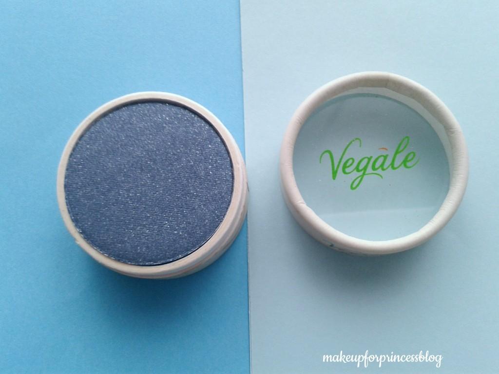 Aquarius blu scuro ombretto vegale bio biologico economico opinioni opinione review vegano