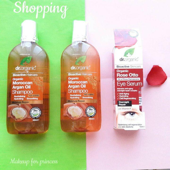 shampoo dr.organic recensione shampoo bio idratante