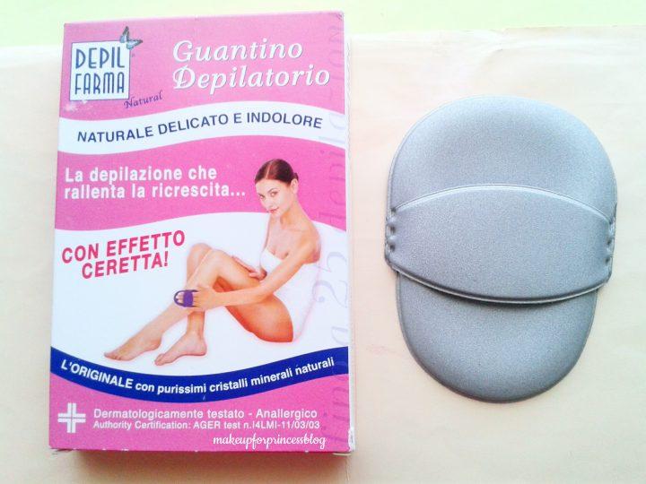 Guantino depilatorio guanto depilatorio depilazione naturale opinione opinioni recensioni recensione prezzo funzion
