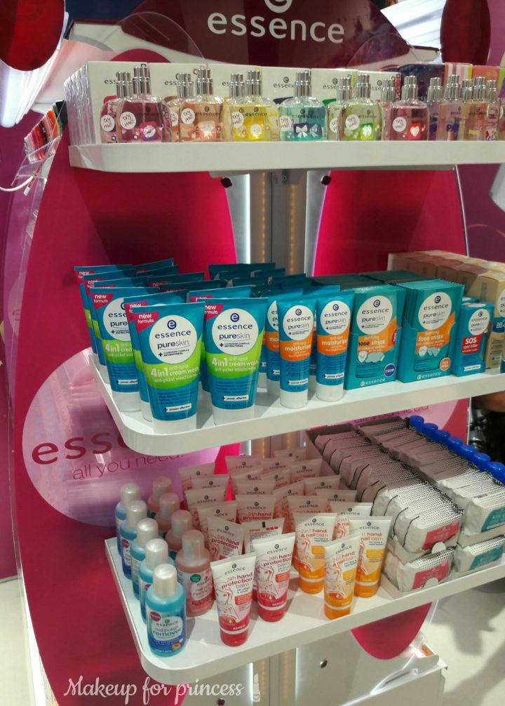 essence cosmetics skincare