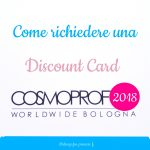 discount card cosmoprof 2018